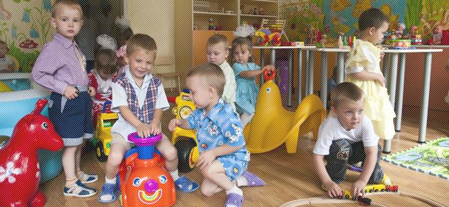 Дети с туберкулезной интоксикацией в детском саду